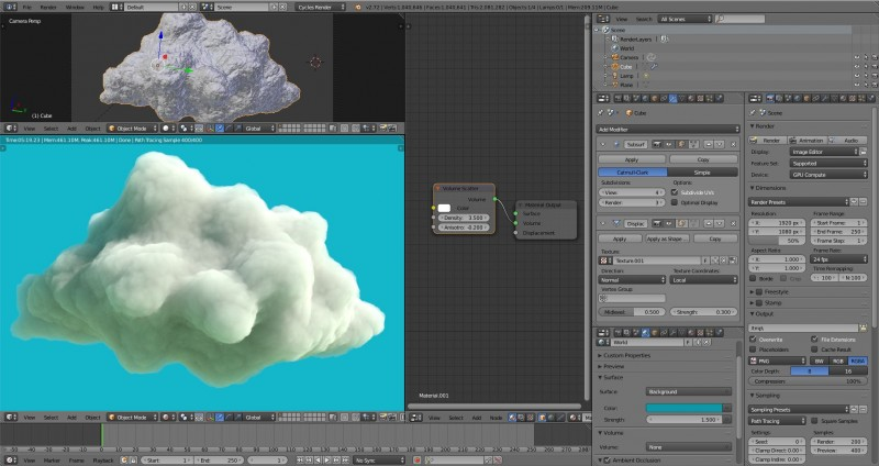 Making Clouds
