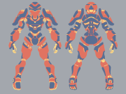 Mecha Design Shape Distribution