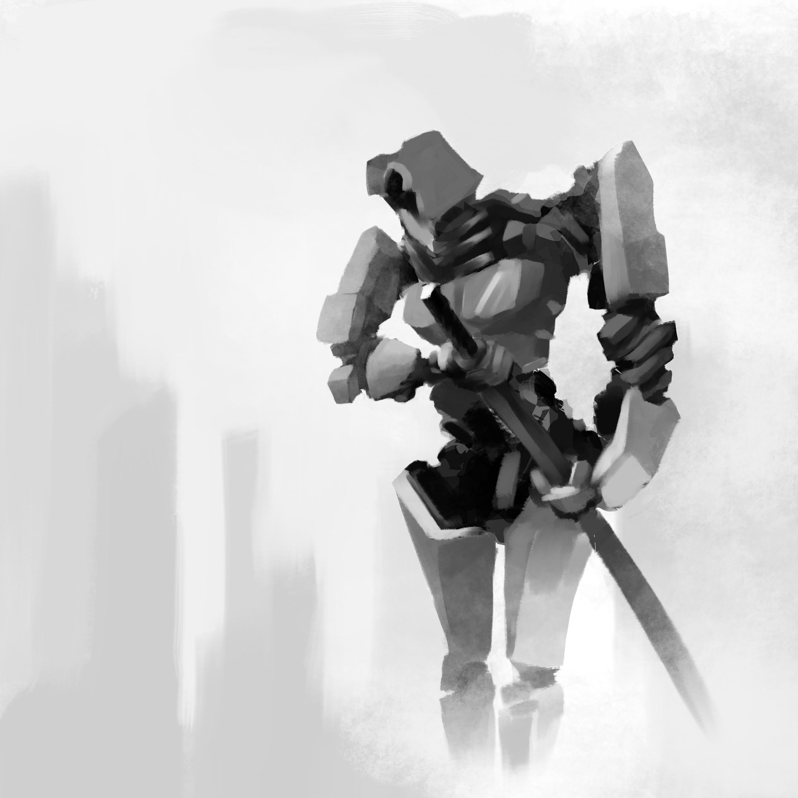 Samurai Mech 001